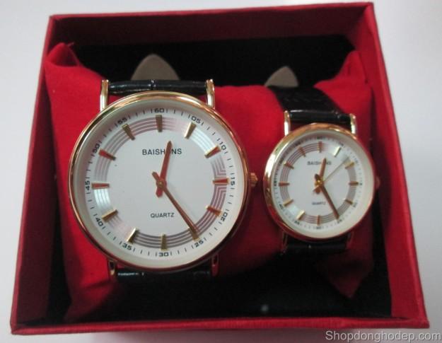 đồng hồ đôi baishuns d07