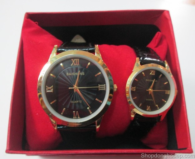 đồng hồ đôi baishuns d09