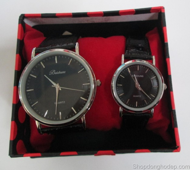 đồng hồ đôi baishuns d12