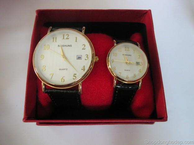 đồng hồ đôi baishuns d19