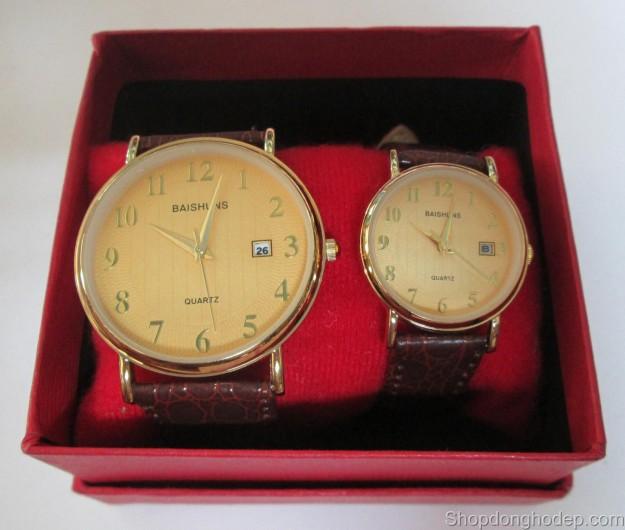 đồng hồ đôi baishuns d20